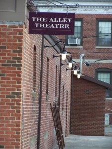 The Alley Theatre Outside
