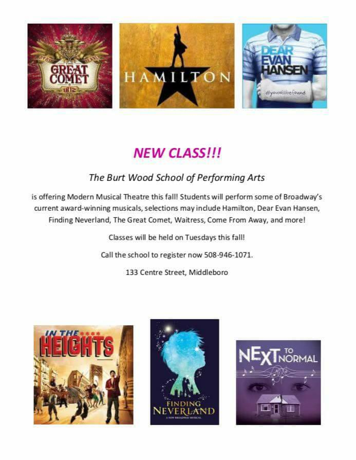 Upcoming Events | The Burtwood School of Performing Arts