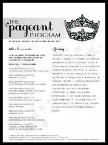 NEW PAGEANT AD. 2016